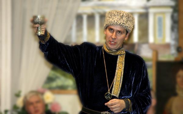 Пётр Абрамов в Малаховке