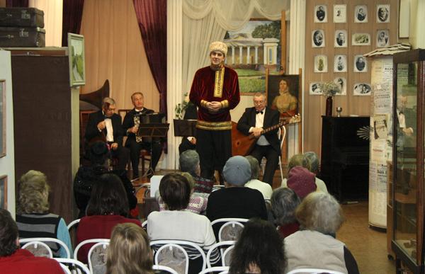 Пётр Абрамов в Малаховском музее