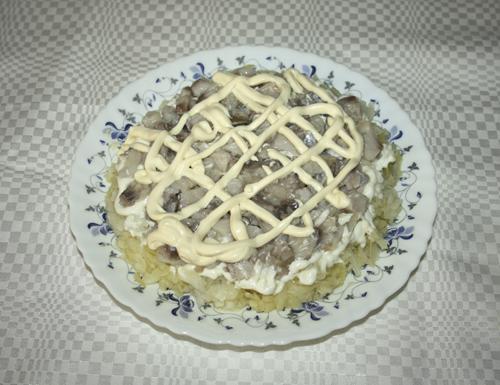 Салат Лисичка рецепт с фото @Noorysan