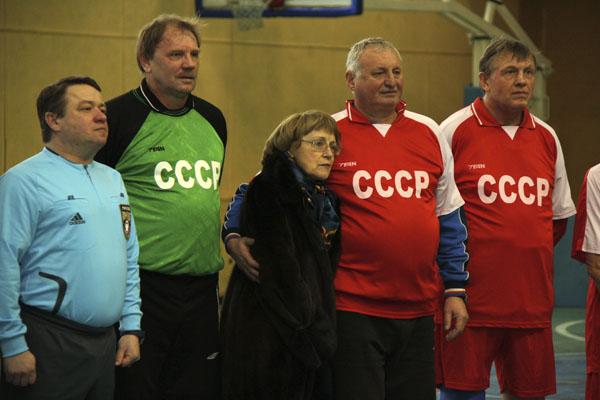 Турнир памяти Паскина в МГАФК ветераны Спартака