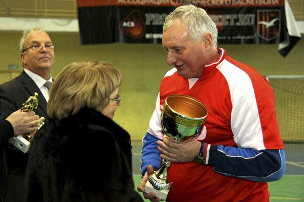 Юрий Гаврилов на турнире памяти Паскина в Малаховке