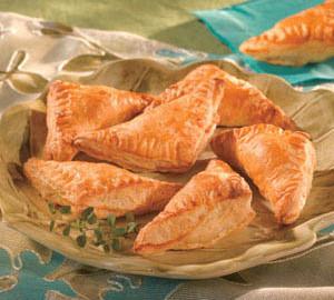 Печенье Осенние треугольники