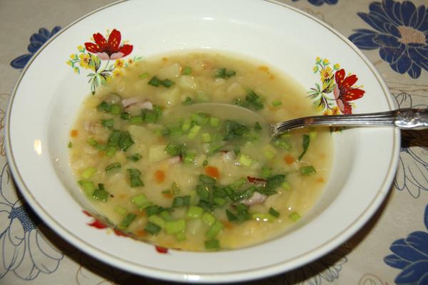 Суп гороховый оригинальный рецепт