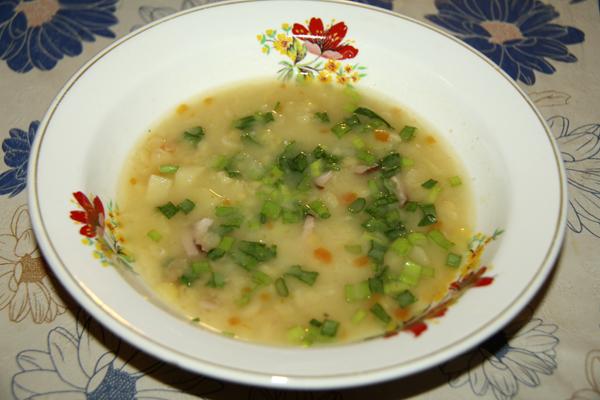 Гороховый суп моего мужа