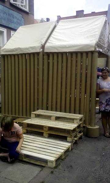 как построить дом из подручных материалов