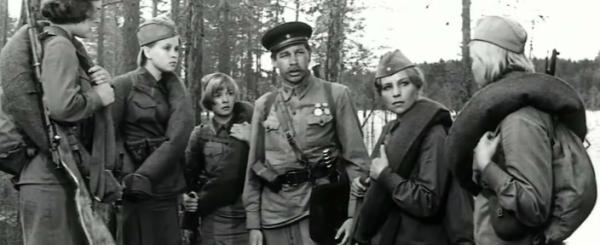 А зори здесь тихие фильм 1972 года