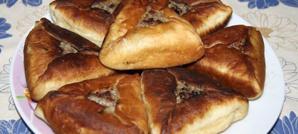 Пирожки жареные с мясом от @NoorySan