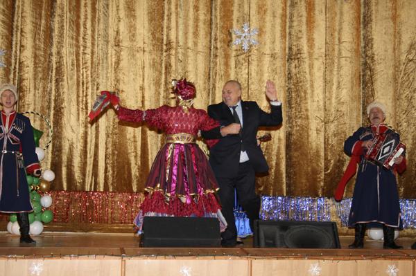 Новогодний прием в Малаховке