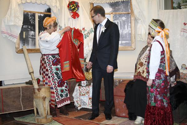 Свадьба в музее, 1