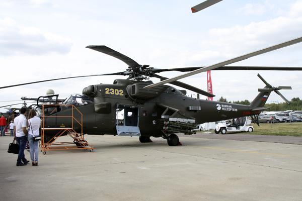 вертолет МАКС 2015