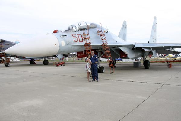 су-27 на земле