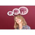 как научиться думать о хорошем, как мыслить позитивно, как прогнать плохие мысли, как правильно загадывать желания. думать о розовых слонах