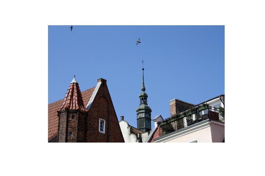 Крыши старого Гданьска