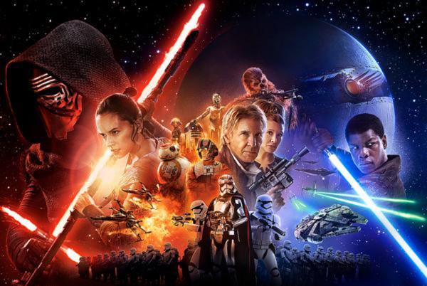 звездные войны 7 постер