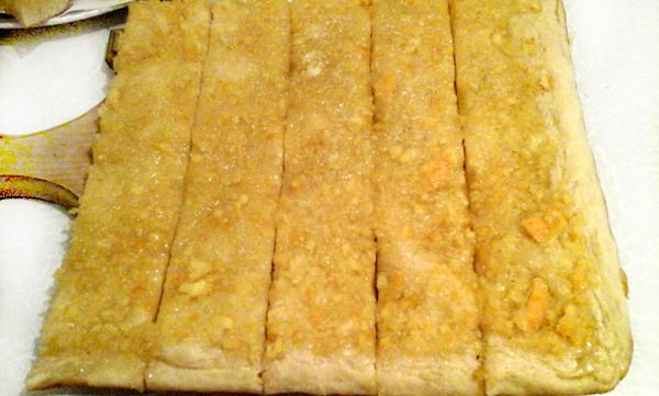 печенье апельсиновое из дрожжевого теста