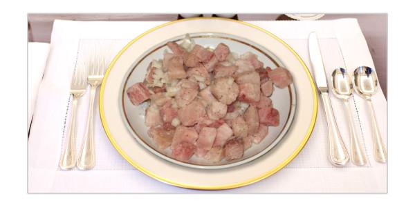 салат из мороженой рыбы