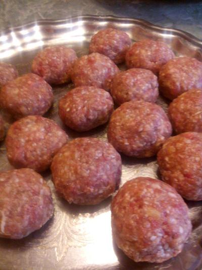 фрикадельки, мясные шарики