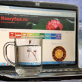 вода для красоты, вода на клавиатуре, вода на ноутбуке, стакан воды
