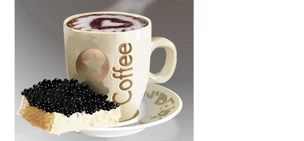 Кофе — чёрное?