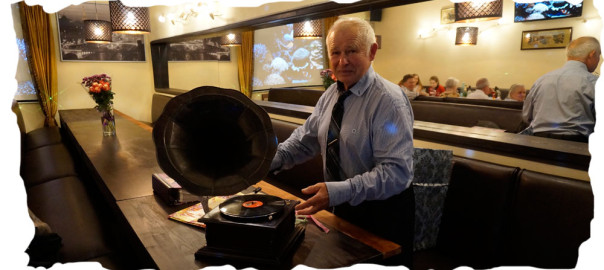 старинный граммофон в подарок