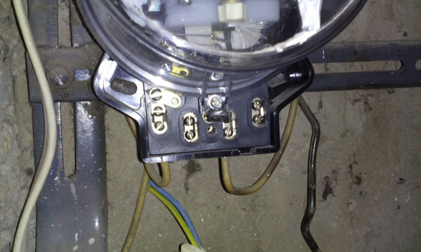 порча электрощитка