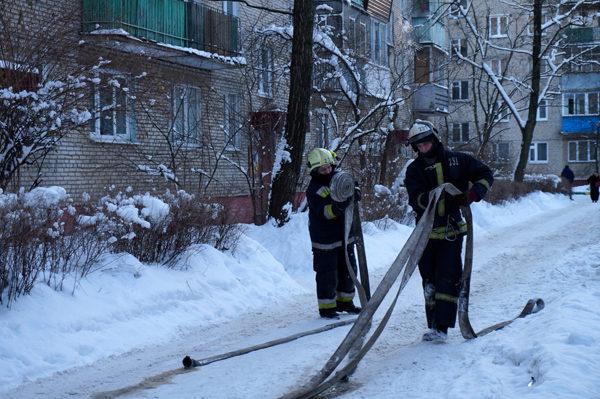 пожарные малаховка