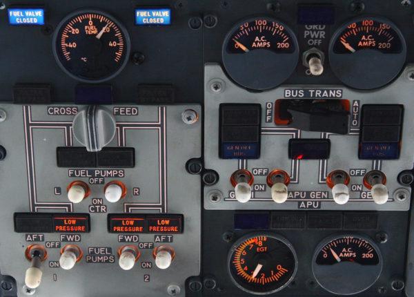 Система контроля топлива и управления насосами