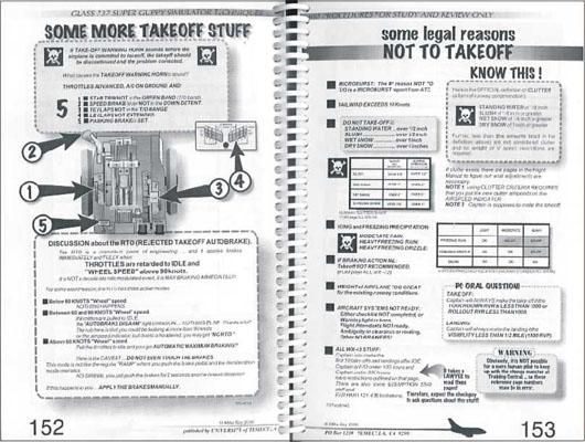 Инструкция по действиям в аварийных случаях в полете