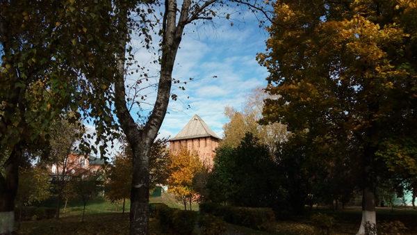 осень в коломне
