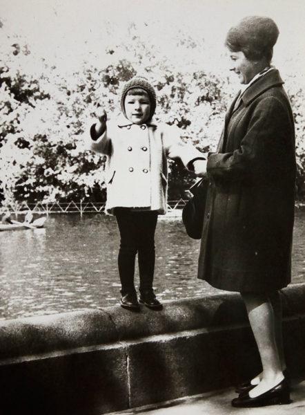 Нури Сан с мамой