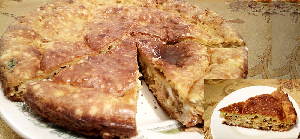 Рыбный пирог Гали Серовой
