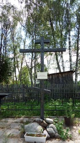 поклонный крест в семеновском